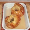 Pommes au four miel-romarin