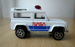 Land rover Nasa 03 -Majorette- (1