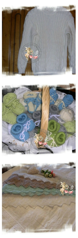 collage tricot