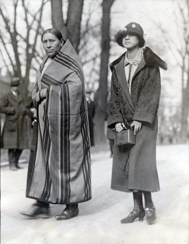 Osage-mother-daughter