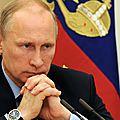 Reponse de vladimir poutine a ceux qui ont commence la guerre contre la russie