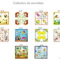 Collection de serviettes