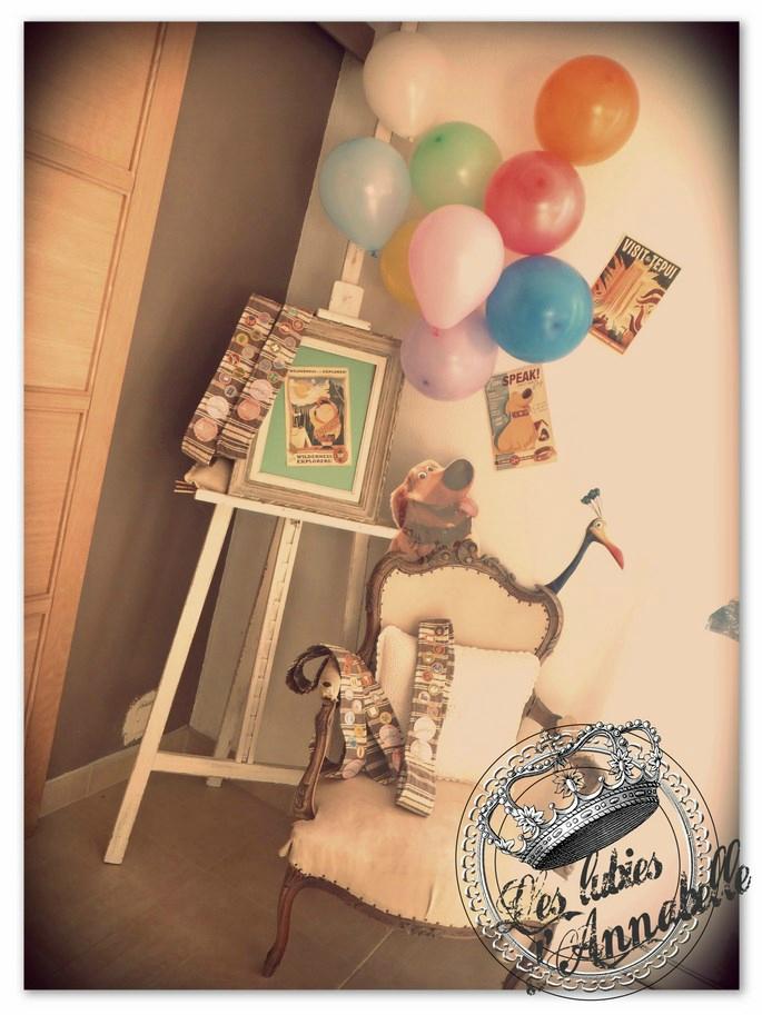 décoration anniversaire fille theme la haut up pixar (Copier)