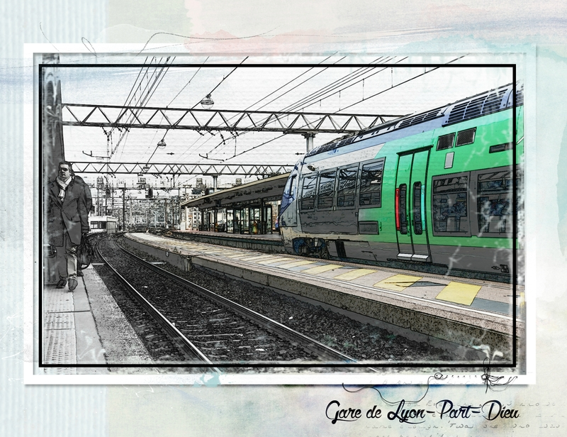 Lyon - Le train--