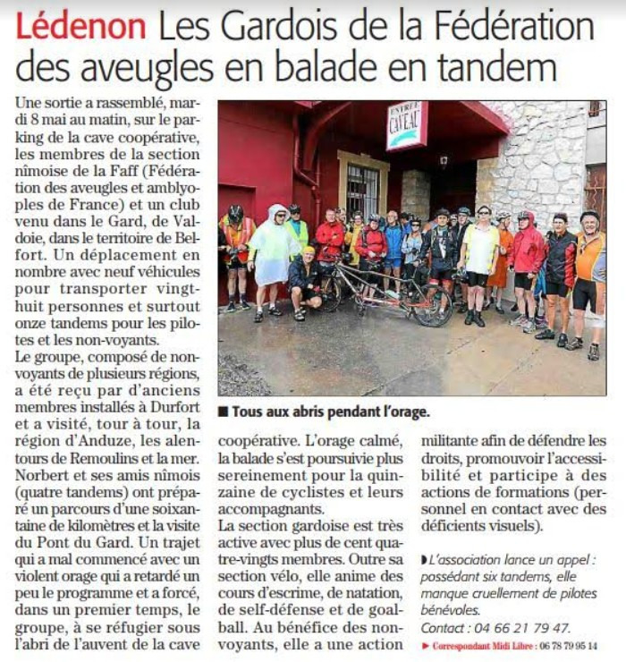 article groupe