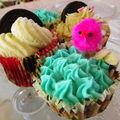 Cupcakes aux oreo et bouchées pralinoise