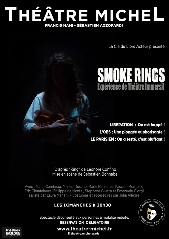 SMOKE RINGS Octobre 2019 Affiche