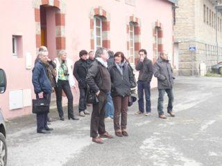 AG du 30 mars 2013 devant l'abri du marin à CC