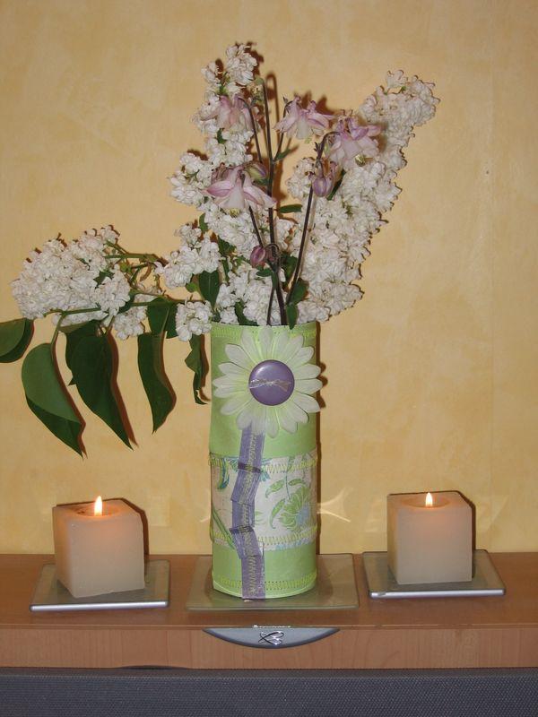 Vase éphémère