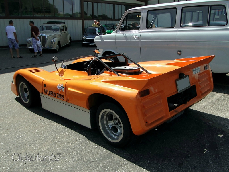 mc laren m8b can am 1969 b