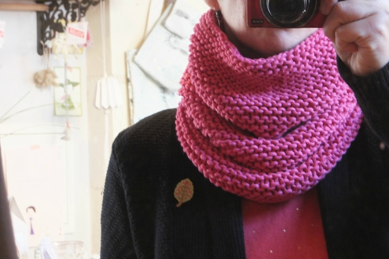 Coton Natura XL snood (1)