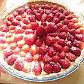 Tarte aux fraises d'andrea