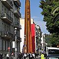 Les niçois rejettent unanimement le monument du 150eme anniversaire de l'annexion !