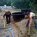 chantier Phytoépuration Élise et Carole