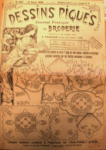 Dessins piqués n° 307 - 15 avril 1926 (1)