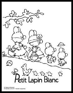 tuto gimp - dessin simple : Lapins à colorier gloewen