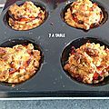 Tartelettes herissons en crumble