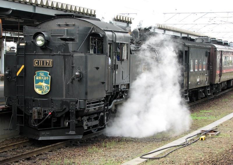SL C11 171 at Hakodate station