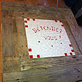 Détails de la mosaique (table basse de Mariette)