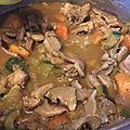Gourmandises du dimanche- curry japonais au poulet