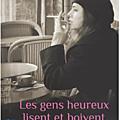 [chronique] les gens heureux lisent et boivent du café