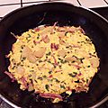 Frittata aux herbes