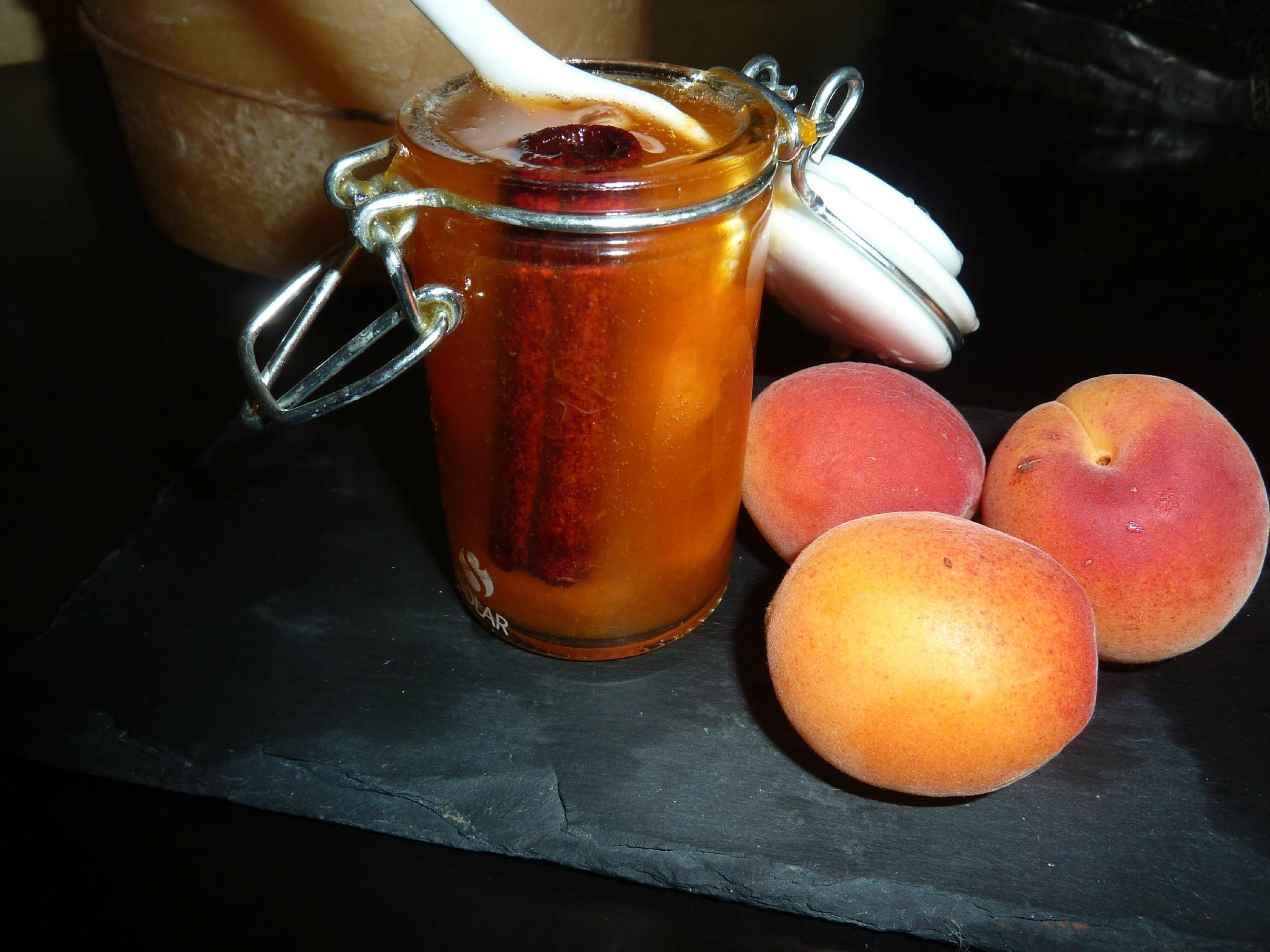 confiture abricot cannelle