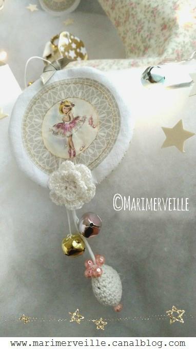Décoration petite ballerine N°3 Marimerveille