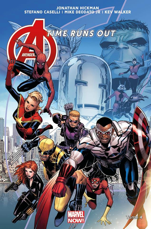 marvel now avengers time runs out 04 la chute des dieux