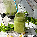 Green smoothie : banane & epinard