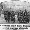 1915-09-18 remise de drapeau au 230e R