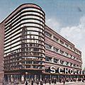 Stuttgart, Schocken 1928 architect Erich Mendelsohn