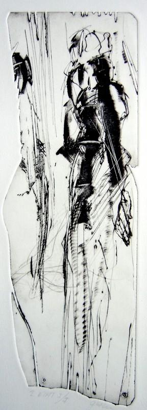 Face à face (47 x 19 cm)