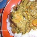 Curry d'agneau crémeux au lait de coco