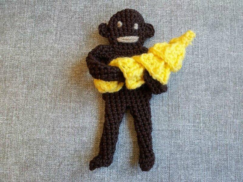 singe et bananes