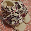 Petits chaussons pour Eméline