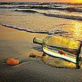 Une bouteille à la mer...