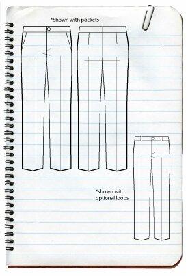 SBCC Patterns - Manhattan Trousers