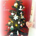 Le calendrier de l'avent 2010 - sapin de noël de l'avent - sablés décorés - christmas cookies