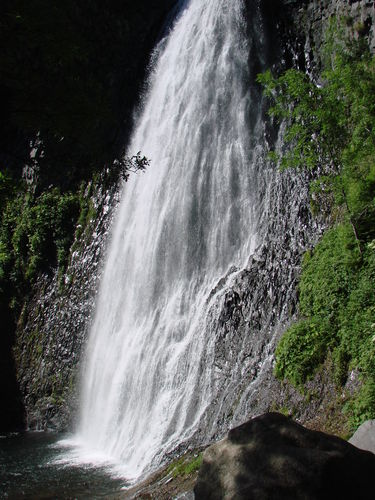 2008 06 26 L'impressionnante cascade du Ray-Pic, 70 mètres de dénivelé