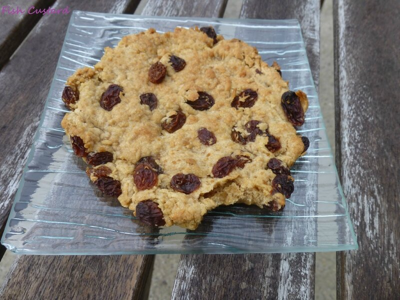 Maxi cookie aux raisins secs 2 (5)