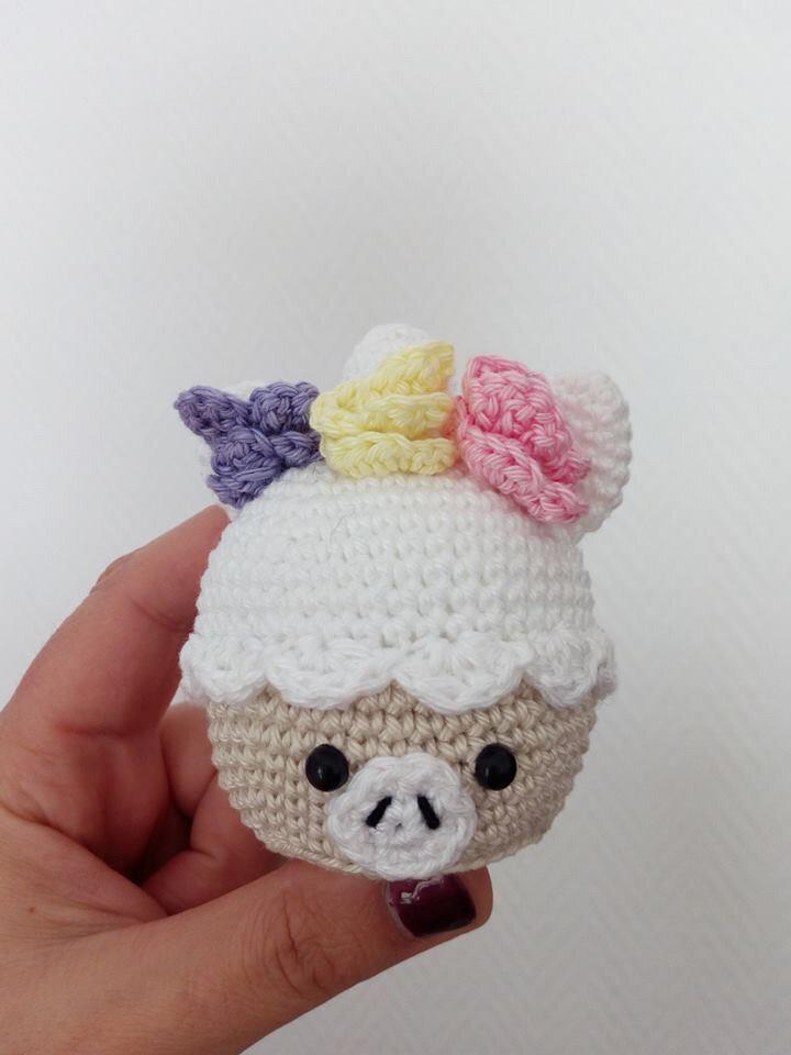 27c - Cupcake Licorne