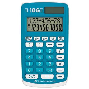 Calculatrice-Texas-Instruments-TI-106-II-Solaire-Batterie