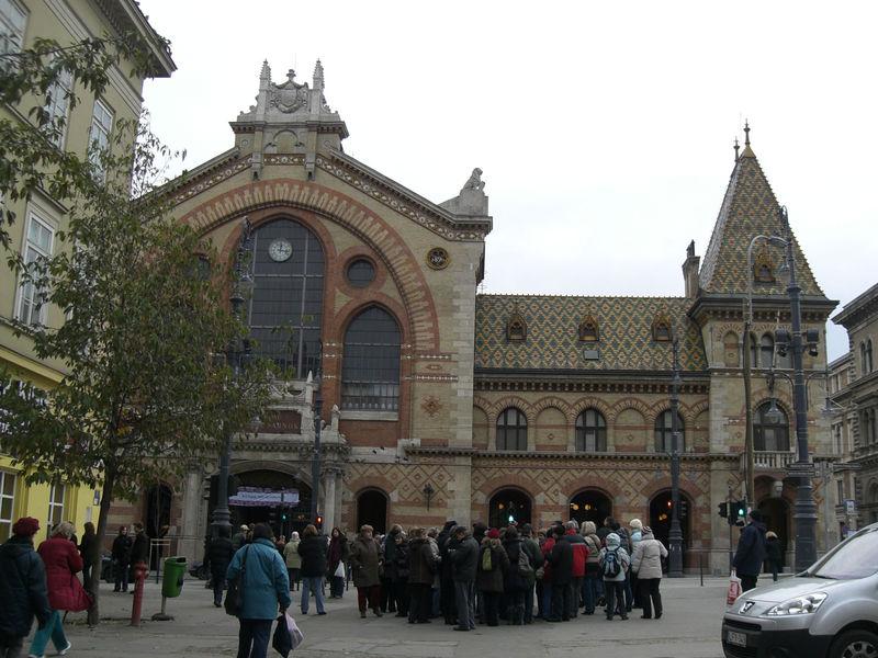 Budapest Vasarcsarnok (marché central)