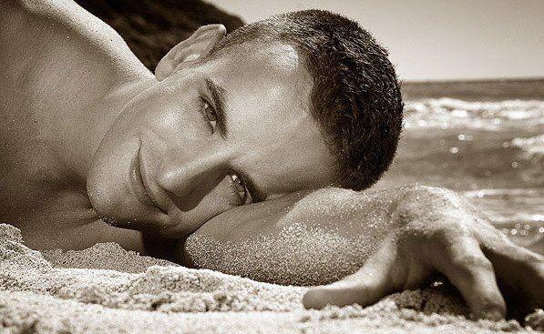 sourire à la plage