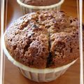 Muffins chocolates aux griottes