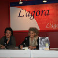 Au Salon du livre de Montréal, en novembre 2008