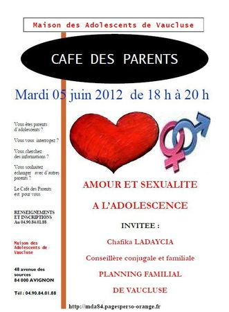 Capture café des parents juin 2012
