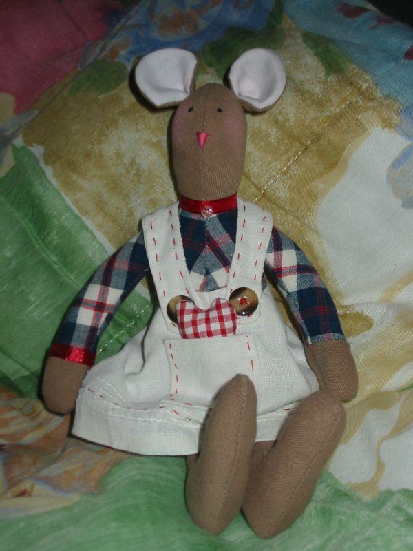 petite souris, robe en lin