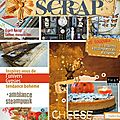 Publication carnets de scrap:les triangles